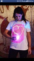 Used Glow in the dark Tshirt تيشيرت مضيئ in Dubai, UAE