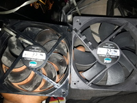Used Collar master pc case fan green lighting in Dubai, UAE