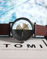 Used 》Original TOMI Leather Watch ○✅BAG  ✅Box in Dubai, UAE