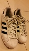 Used Adidas originals superstar size 37 1/3 in Dubai, UAE