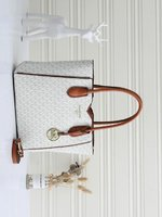 Used Michael kors ladies bag white in Dubai, UAE