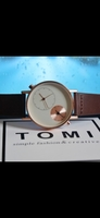 Used Original TOMI Leather Watch▪︎NEW ¤✅ Box in Dubai, UAE