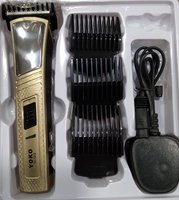 Used Yoko rechargeable hair trimmer set in Dubai, UAE