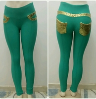Used Longpants Slim Fit Green Color Available in Dubai, UAE