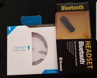 Used New bluetooth headphone +wireless charge in Dubai, UAE