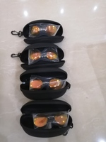 Used Men's Rimless Clamp glasses 4 pcs in Dubai, UAE