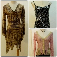 Used Bundle Offer 3 pcs Long top or Tops in Dubai, UAE