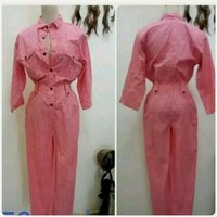 Used Pink overall for Women fabulous. in Dubai, UAE