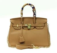 LADIES DESIGNER HANDBAG  CHAIN  STYLE TOP HANDLE