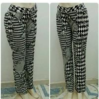 Long Pants Black And White Available Siz