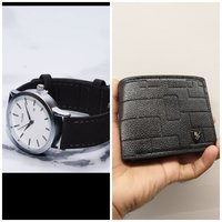 Used Bundle Offer° TOMI Original Watch+Wallet in Dubai, UAE