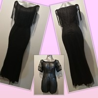 Used Buy cute night black glittery dress + 🎁 in Dubai, UAE