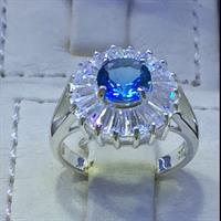 Ladies Ring Sterling Silver 925 Brand New Sol