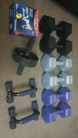 Used Full Dumbbells set Gym at home in Dubai, UAE