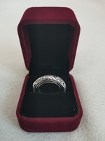 Astronomical Bal Ring Silver