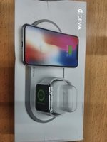 Used Devia 3 in 1 wireless charger for watch. in Dubai, UAE