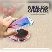 Used New black wireless charger Qi compitable in Dubai, UAE