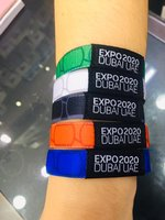Used EXPO2020 Wrist Bands Multi Colors in Dubai, UAE