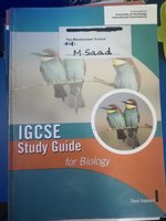 Used IGCSE Biology study guide in Dubai, UAE