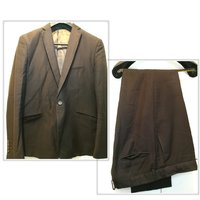 Used Used dark brown men suit size 58 in Dubai, UAE