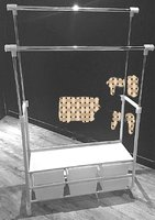 Used 2pcs of Cloth Hanger Rack With 6 Drawers in Dubai, UAE