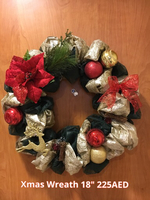 "Used Christmas Wreath ""Magic"" in Dubai, UAE"