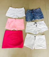 6 branded preloved shorts in perfect