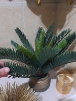 Used NEW little artificial gold palm tree in Dubai, UAE