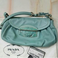 Used PRADA Leather Flap Bag.😍 AUTHENTIC! ! in Dubai, UAE
