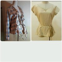Used Bundle Offer blouse with top. in Dubai, UAE