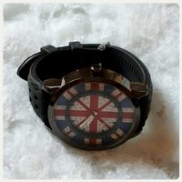 Used Brand new black uk watch. in Dubai, UAE
