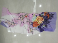 Used Floral scarf+floral rubber band in Dubai, UAE