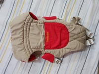 Used Baby Carrier#RedGrey#Used in Dubai, UAE