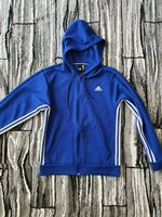 Used Adidas hoodie jacket size Small in Dubai, UAE