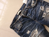 Used SUPER COOL BERSHKA RIPPED LARGE JEANS in Dubai, UAE