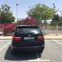 Used BMW X5 3.0si model 2009 Full option , panoramic roof Full service history Excellent condition  Lady driver  Black-Beige Leather 145000 KM in Dubai, UAE