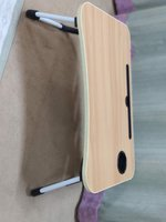 Used Folding laptop table Wood Color in Dubai, UAE