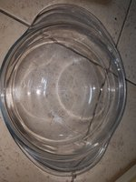 Used Glass bowl with lid in Dubai, UAE