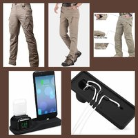 Used MILITARY KHAKI TROUSERS+ CHARGING STAND in Dubai, UAE