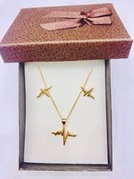 Used 10k Non Tarnish Gold Set (2) in Dubai, UAE