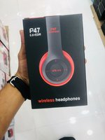 Used P47 wireless headphones red in Dubai, UAE
