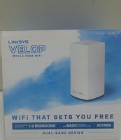 Used LINKSYS VELOP AC1300 WIFI ROUTER in Dubai, UAE