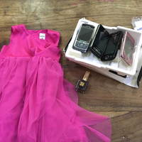 Bundle: dress + nail polish + phones