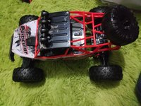 Used 4wd rc car, scale 1/12, 2000 mAh battery in Dubai, UAE