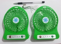 Used 2 portable USB rechargeable fans in Dubai, UAE