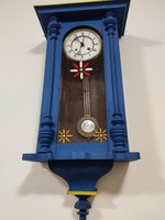 Used antique 8days mechanical wall clock in Dubai, UAE