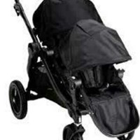 Used Limited Edition Baby Jogger Double Stroller with 2 seats and accessories in Dubai, UAE