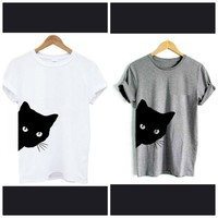 Used Buy 1 get 1 free cute cats tshirts in Dubai, UAE