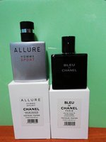 Bleu de Chanel and allure 25ml each