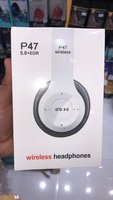 Used P47 headphones new Friday 🎉🎉🎉🎉 in Dubai, UAE